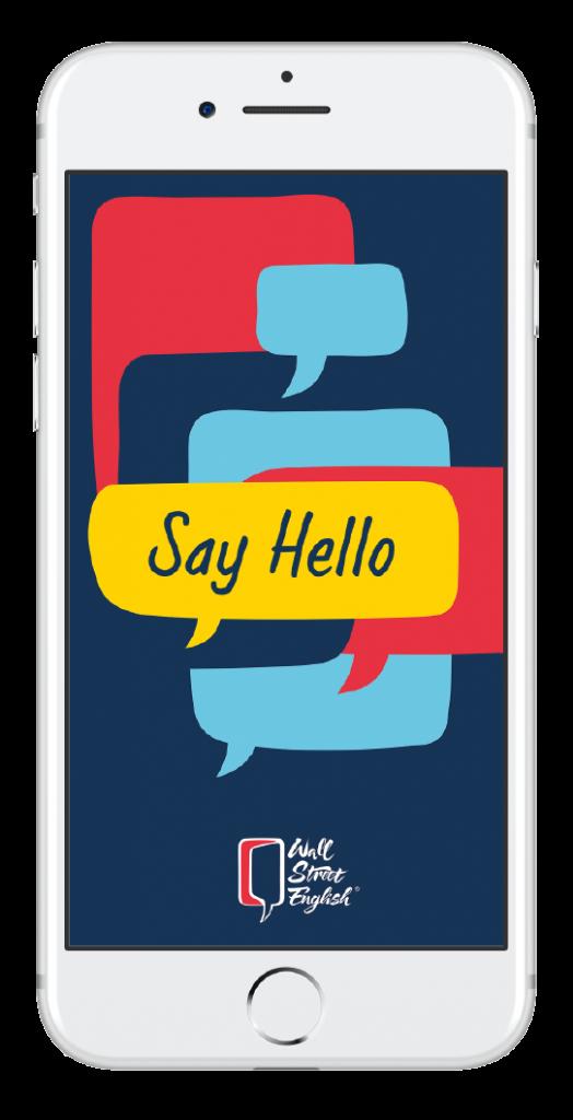 Say Hello App