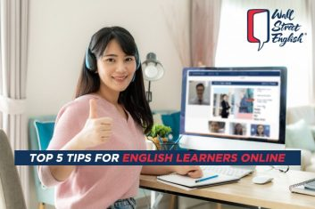 Top Five Tips for English Learners Online
